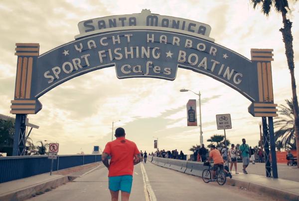 Santa Monica obraz